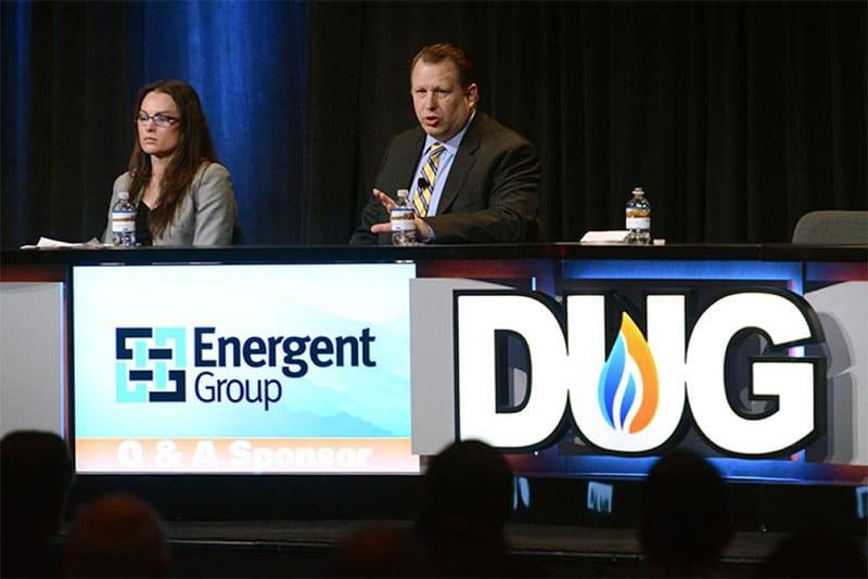 Trisha curtis speaks at Energent Group