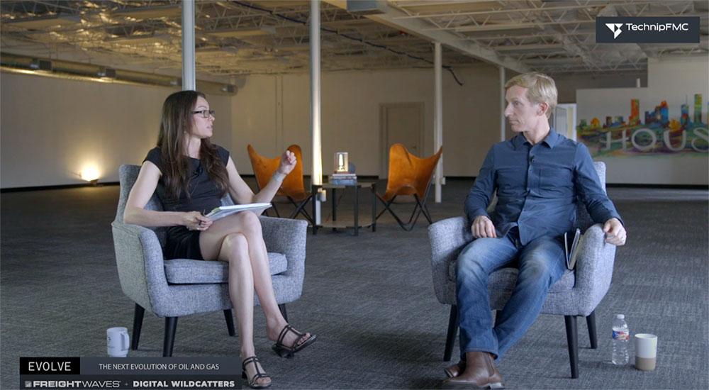 Freightwave interview with trisha